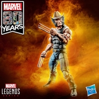 Marvel Legends 80th Anniversary Wolverine Cowboy Logan 6-Inch Action Figures Exclusive