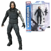 Captain America Civil War Marvel Select Actionfigur Winter Soldier 18 cm
