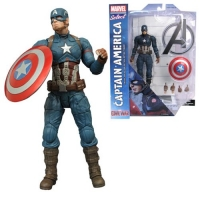 Captain America Civil War Marvel Select Actionfigur Captain America 18 cm