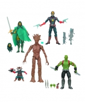 Guardians of the Galaxy Actionfiguren 5er-Pack EE Exclusive 15 cm