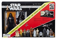 Star Wars Black Series Actionfigur Darth Vader 40th Anniversary Legacy Pack 15 cm